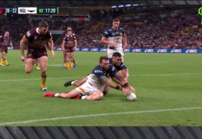'That's a try!' Brandy Alexander blasts the bunker after controversial try overrule
