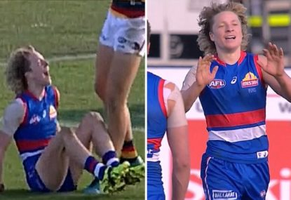 The AFL's newest pest rubs it in after milking another free
