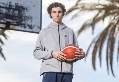 'The look of a power forward and eyes of a point guard': Josh Giddey excites fans in his NBA pre-season debut