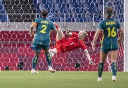 Analysis: Kerr's missed penalty and old concerns leave Matildas on the edge after Sweden loss