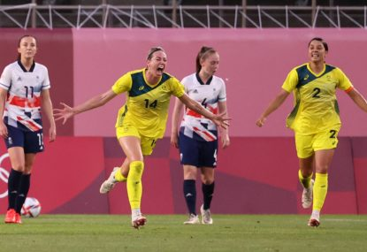 What time do the Matildas play Sweden tonight in the Tokyo Olympics women's football semi-final?