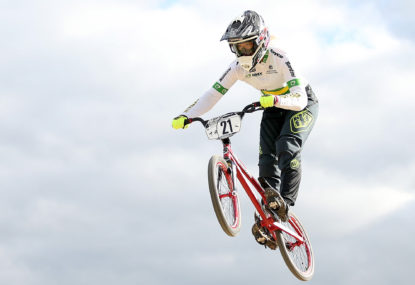 Lauren Reynolds ready to smash her BMX competition at Tokyo