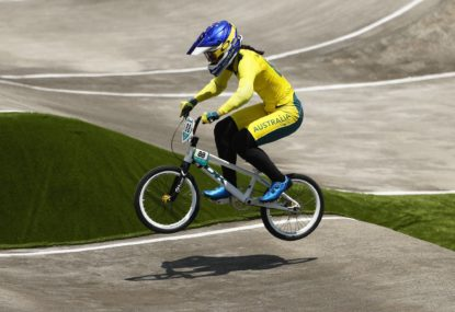 'I let everyone down, especially my brother': Saya's gut-wrenching reaction to BMX crash