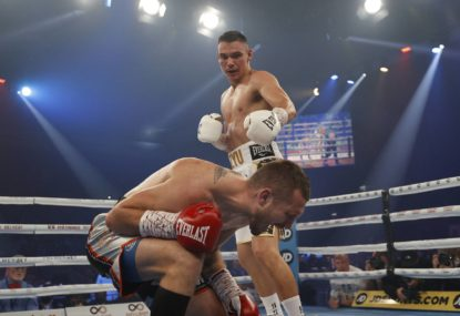 'Boys, I'm coming for you': Tszyu taunts trio after putting out Spark