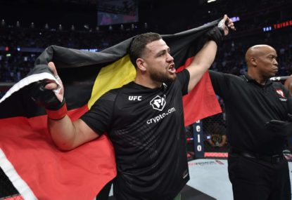 How American fans reacted to Aussie Tai Tuivasa's outrageous UFC 264 appearance