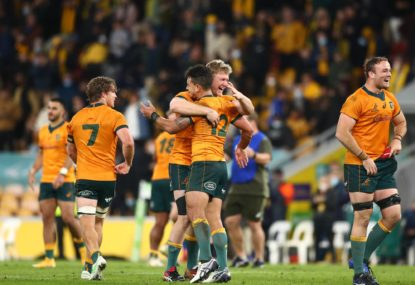 The rugby two-up: 'It's not rust, Australia lacks depth in every position'