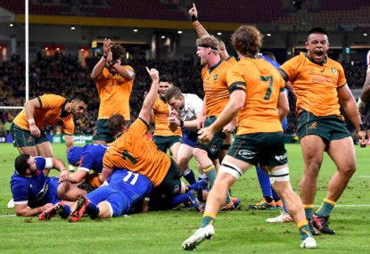 French breakdown precision must be the Wallabies' goal in 2021