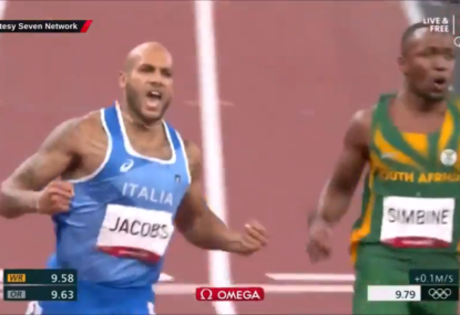 WATCH: It's coming Rome! Italian stuns the field to claim 100m gold