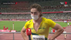 Rohan Browning's hilarious quip after lighting up the 100m heats