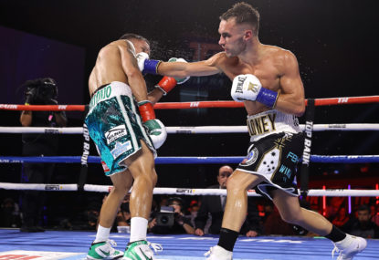 Aussie Moloney downed again by American in tight fight