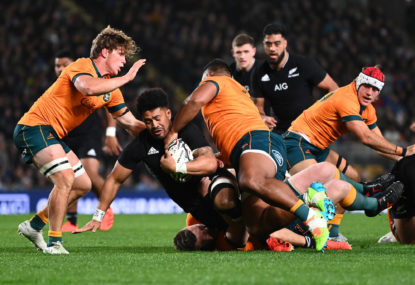 The Wrap: Fast-finishing Wallabies earn respect but Bledisloe Cup remains elusive
