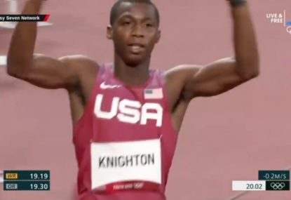 WATCH: Teenage sensation proves he's ready to be the next Usain Bolt in BONKERS 200m
