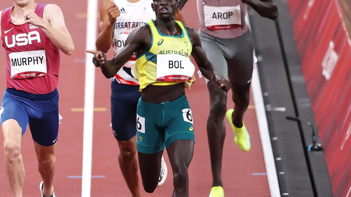'Oh man, that's a big call!': Has Bruce put too much pressure on 800m runner Peter Bol?