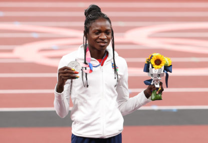 Gripes about high testosterone women in the Tokyo 200m athletics final are not fair