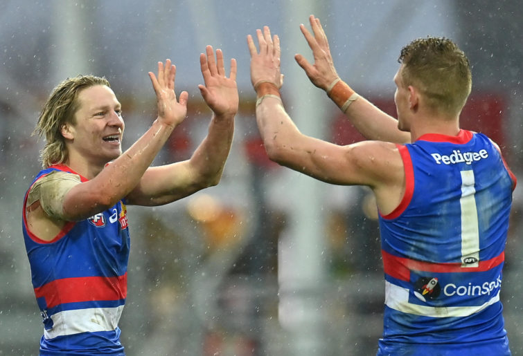 Talking points from the Bulldogs' wild win in the wet