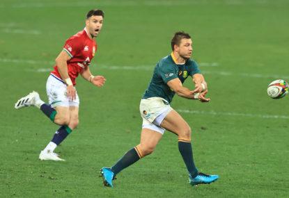 The Springboks handle the British and Irish Lions 27-9 to level the series