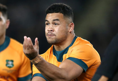 Why not stack the Wallabies' back line with big boppers?