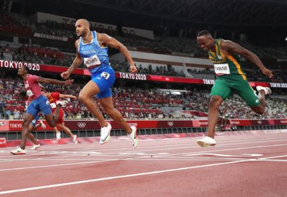 The fastest man on the planet is now from Italy