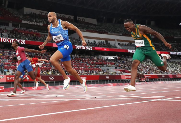 Lamont Marcell Jacobs wins gold in the 100m