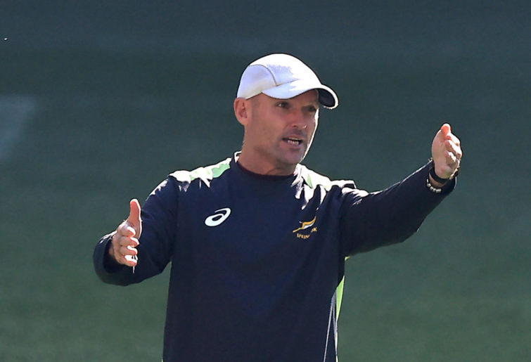 Jacques Nienaber the South Africa Springboks head coach