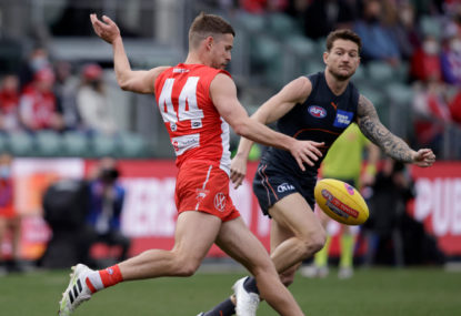 AS IT HAPPENED: Giants, Swans play out all-time finals epic