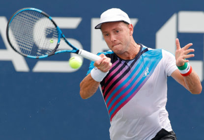 Duckworth blows five match points in tough first day for Aussies at US Open