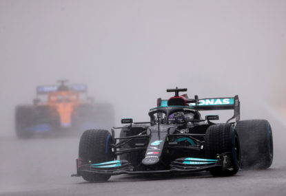 AS IT HAPPENED: Hamilton claims 100th victory in wild Russian Grand Prix finish