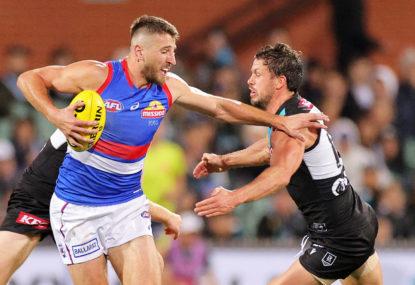 Western Bulldogs vs Port Adelaide Power: AFL live scores