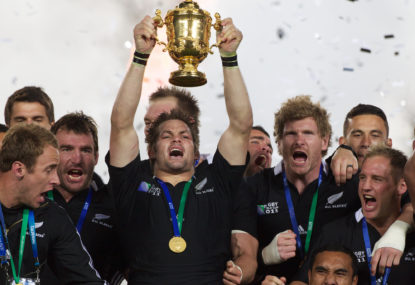 Which All Blacks World Cup was more significant: 2011 or 2015?