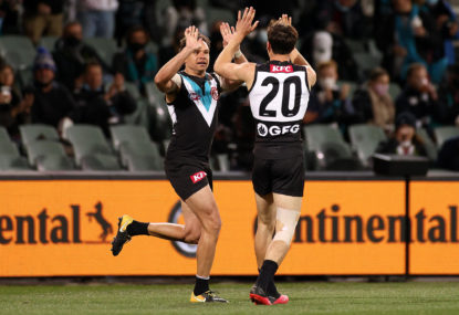 AS IT HAPPENED: How Port pummeled Geelong in superb first final