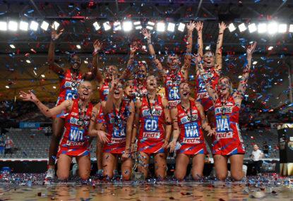 Swifts in seventh heaven after Super Netball Grand Final triumph