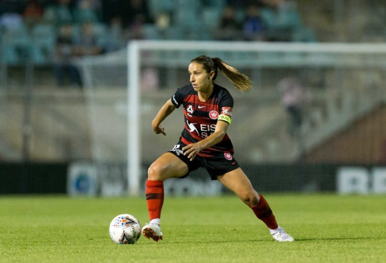 Western Sydney Wanderers midfielder Serves Uzunlar