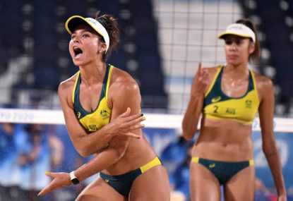 What time is beach volleyball Olympic gold medal match, and who are the unlikely duo chasing glory?