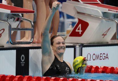 'Australia straight up cheated': Drink in the sweet taste of American swim fans' salty tears