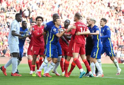 Red card 'spoils' Liverpool v Chelsea, Gunners' 'cowardly' exit in City romp piles pressure on boss