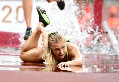 'I'm heartbroken. Happy birthday me': Gen's gutting reaction to ruptured Achilles in Olympic final