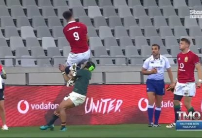 Was this worthy of a red card?