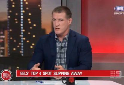 Paul Gallen's dire prediction for Parramatta's finals campaign