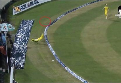 Alex Carey's phenomenal boundary near-miss sums up Australia's Bangladesh tour so far