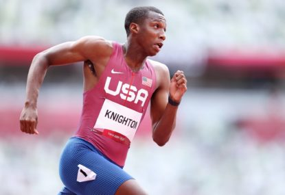 'His mentality is medal or bust': Who is Erriyon Knighton, 17, the kid they're calling the new Bolt?