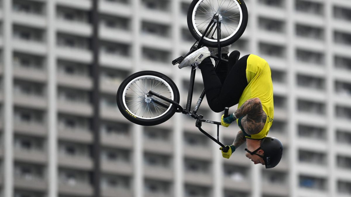 Check out pictures of Logan Martin's crazy $70k backyard set up that helped him win BMX gold