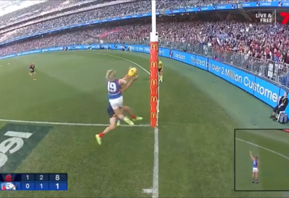 Did Cody Weightman cost his teammate a goal here?