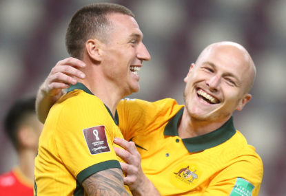 As it happened: Socceroos grind out crucial win over Vietnam