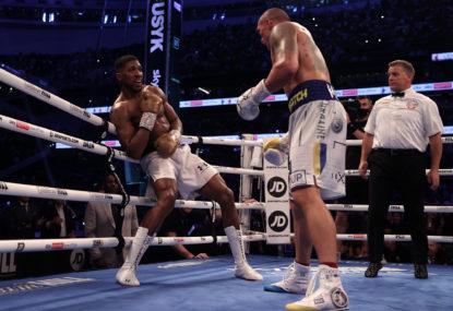 Anthony Joshua loses world heavyweight title in mammoth upset