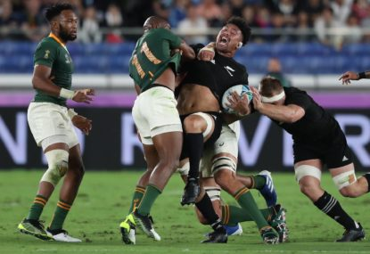 NZ reaction: All Blacks take 'physically fearless but mentally fragile' Boks No.1 ranking. Is their dignity next?