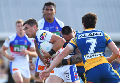 AS IT HAPPENED: Eels, controversial penalty try end Knights' season
