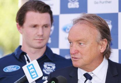 Cat at the Baggers: Blues nab Geelong boss for top job
