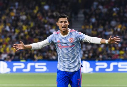 Ronaldo scores but sting in the tail as insipid 10-man United shocked by Young Boys