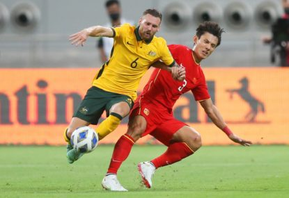'We're here to make history': Socceroos big guns fire as World Cup campaign off to a flyer