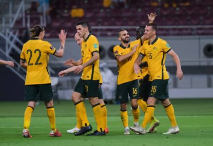 'We can outplay any team': Socceroos off to a flyer after back-to-back wins